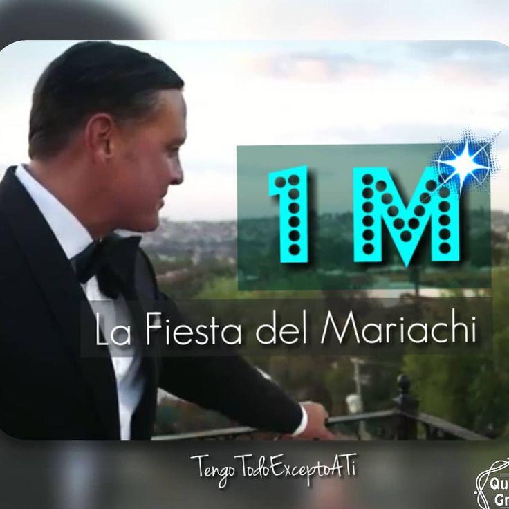 Luis Miguel estrena video nuevo. A 4 días de su lanzamiento mundial #LaFiestaDelMariachi ya llegó al MILLON de visitas en #Youtube 👏👏👏 https://youtu.be/12_eYjSP5G8