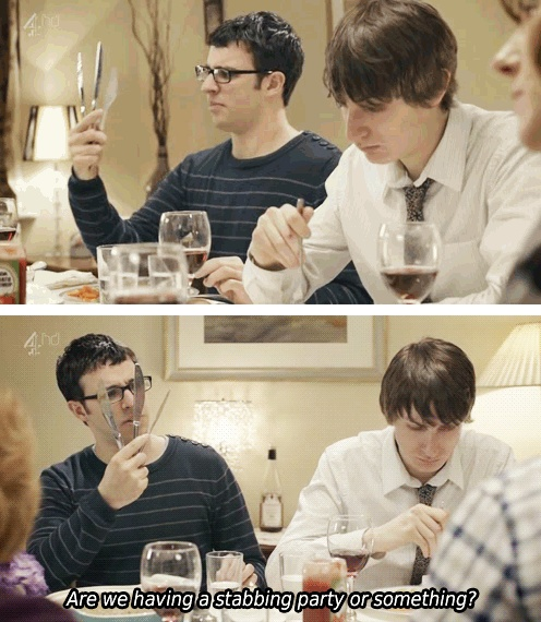 Simon Bird & Tom Rosenthal // Friday Night Dinner