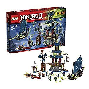 amazoncom lego ninjago 70732 city of stiix masters of spinjitzu 2015