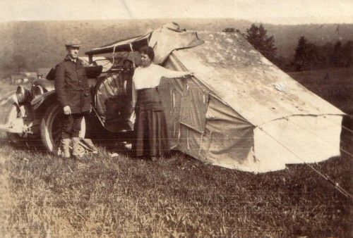 Auto-Camping, From Coast to Coast 1916 | The Vintage Traveler http://thevintagetraveler.wordpress.com/2010/11/29/auto-camping-from-coast-to-coast-1916/