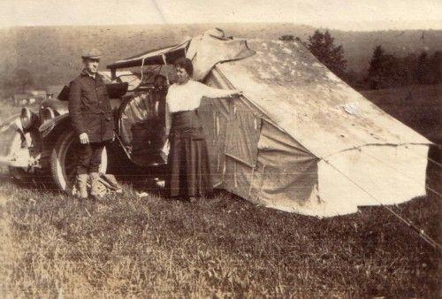 Auto-Camping, From Coast to Coast 1916 | The Vintage Traveler http://thevintagetraveler.wordpress.com/2010/11/29/auto-camping-from-coast-to-coast-1916/