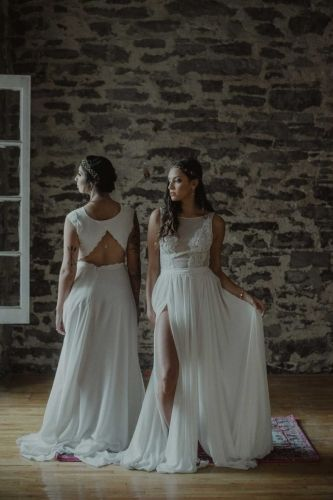 Find your unique wedding dress at Dream it Yourself in the Old Port in Montreal Quebec
