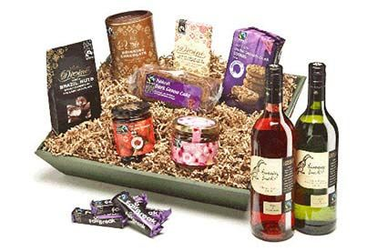 Fairtrade Wine Hamper a delightful selection of fairtrade nibbles, preserves and wines in this tempting hamper, packed full of treats that have been sourced from certified fair trade suppliers. contains: running duck cheni http://www.MightGet.com/january-2017-12/fairtrade-wine-hamper.asp
