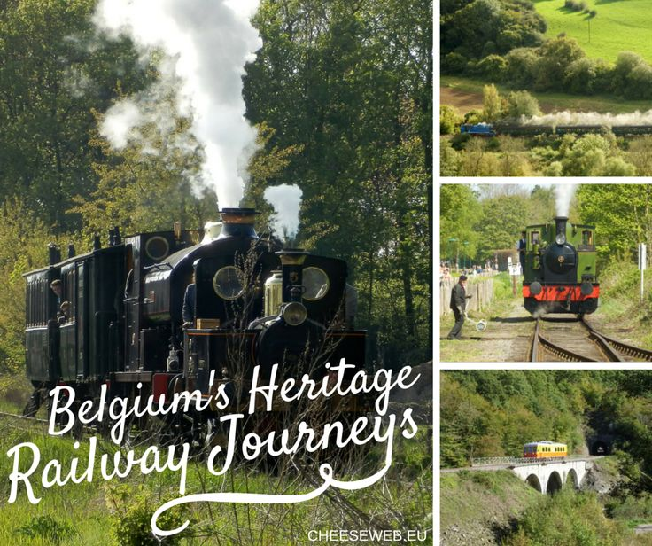 Belgium's Heritage railway journeys