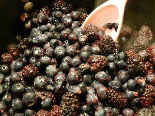 Black and Blueberry Freezer Jam Recipe
