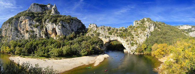 Gorges de l'Ardèche - Le pont d'arc