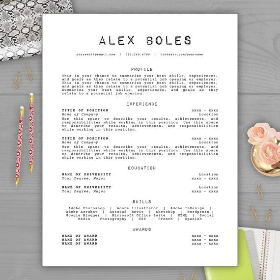 8 best Creative Resume Templates images on Pinterest Design - awesome resumes templates