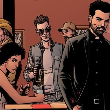 Books: Steve Dillon Preacher comic book artist and co-creator dies. My husband works on this show.