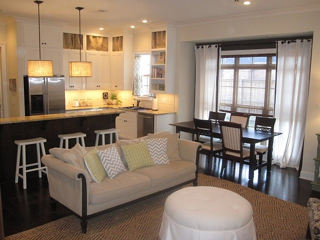 Like The Shared Dining Living Space For The Home