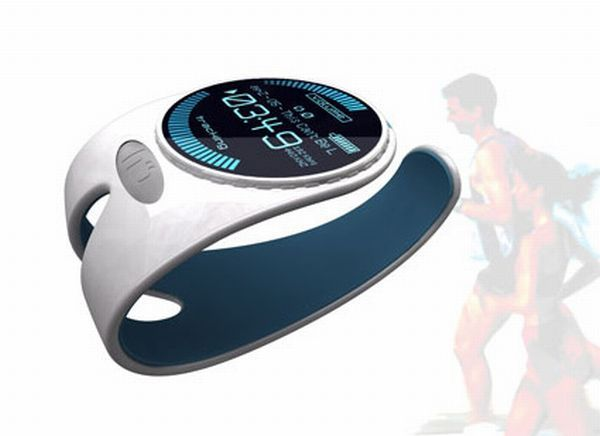 Latest wrist MP3 player designed for runners