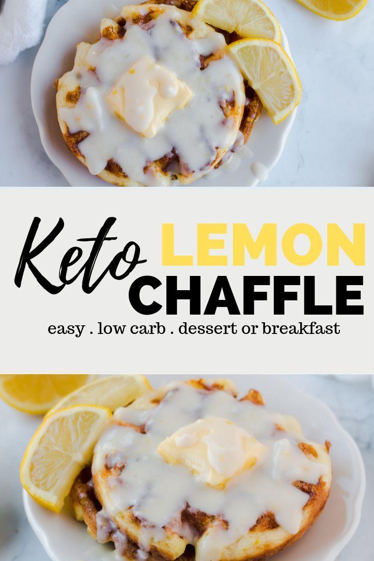 Keto Lemon Chaffle Recipe – Genießen Sie als Dessert oder Keto-Frühstück dieses …