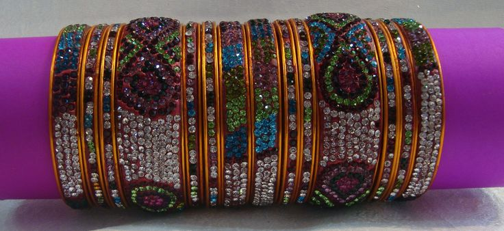 Lac Family Wedding Bangles- Oval from Lal10.com