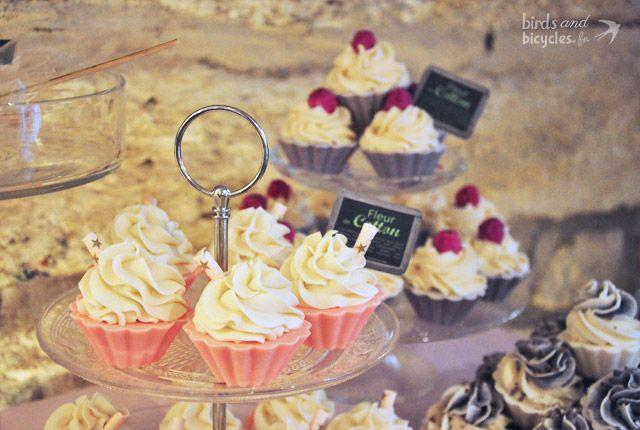 Jolie boutique à Montpellier: Bain de Gourmandises, des cupcakes pour le bain!