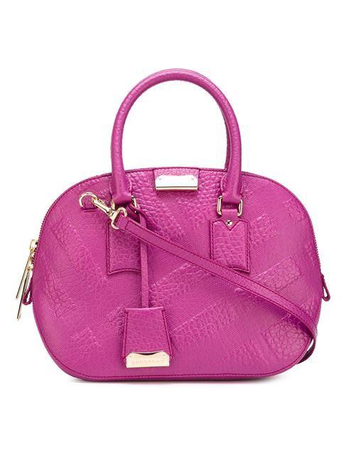 Shoppen Burberry Handtasche mit Karo-Prägung von Stefania Mode aus den weltbesten Boutiquen bei farfetch.com/de. In 300 Boutiquen an einer Adresse shoppen.