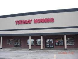 Tuesday Morning - This fun but strange retailer is a discount store that closes out higher end merchandise.  The stores are usually hard to find, probably because the opt for cheap rental locations.  But they are a hidden gem that can be fun to shop!