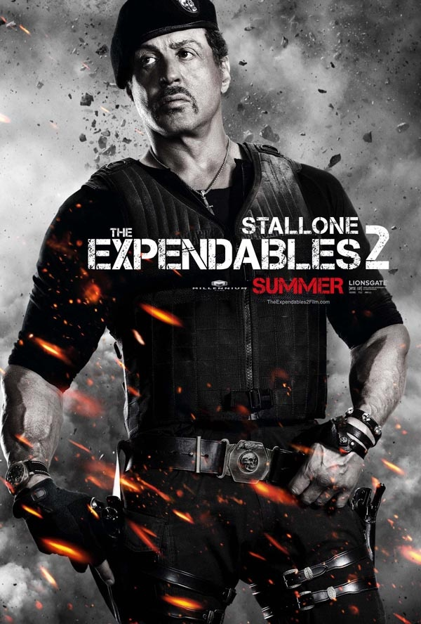 Expendables 2 ! Action !