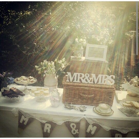 The Big Fat Events Company, wedding dessert table