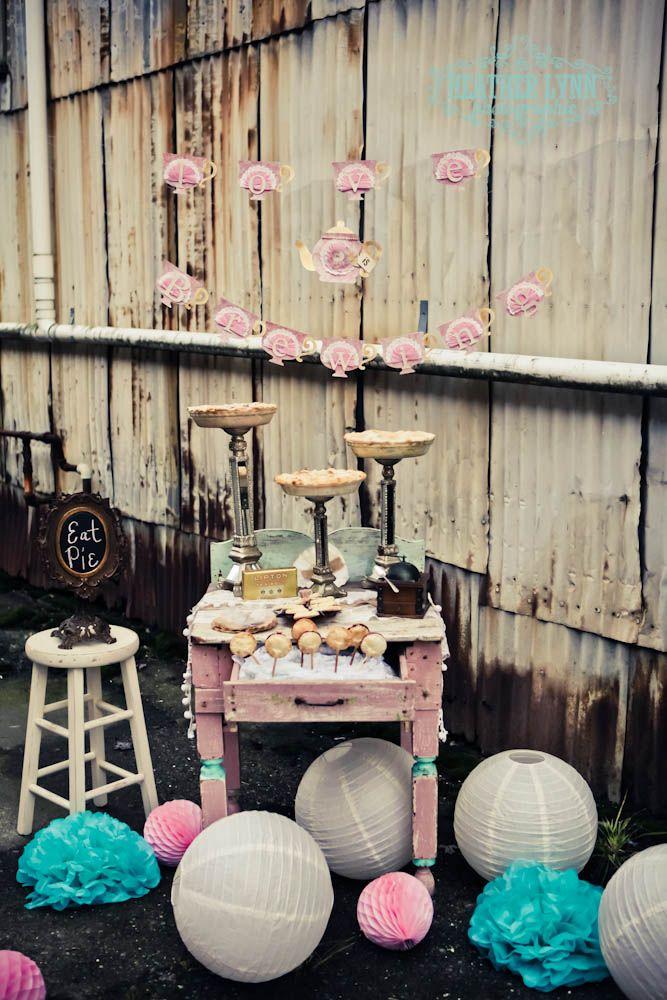 vintage tea party theme #teaparty #desserttable #heatherlynnphotographie