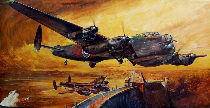 "hanspanzer: "" Lancaster Dambusters. """