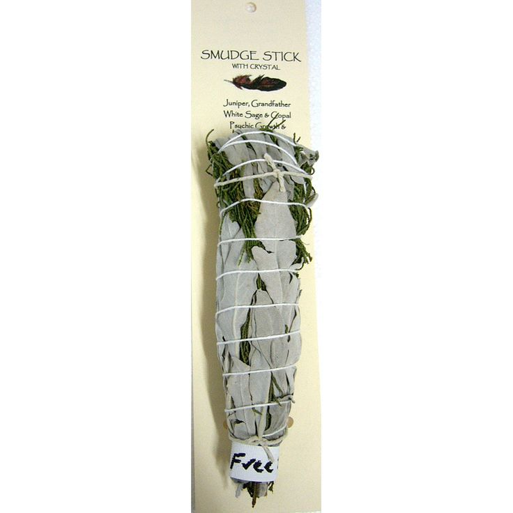 This aussie smudge stick is made from juniper, white sage and copal. Only $21.00