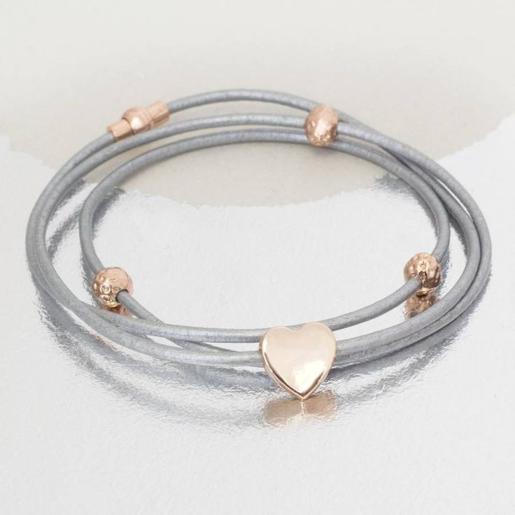 Grey and rose gold