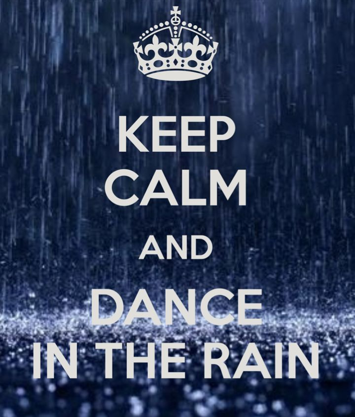 Keep Calm And Dance In The Rain! Get some new dance attire or take some dance lessons at Loretta's in Keego Harbor, MI! If you'd like more information just give us a call at (248) 738-9496 or visit our website www.lorettasdanceboutique.com!