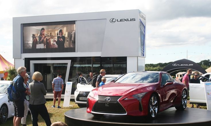 Move fast to win a pair of tickets to attend CarFest South at the end of the month, where you'll see the all-new Lexus LC 500 coupe in the metal. www.newportlexus.com