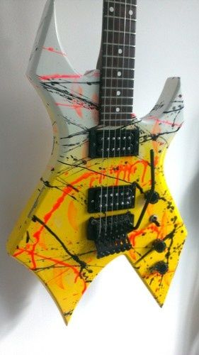 BC Rich USA Custom Shop Warlock | 28jt | B C Rich Guitars ...