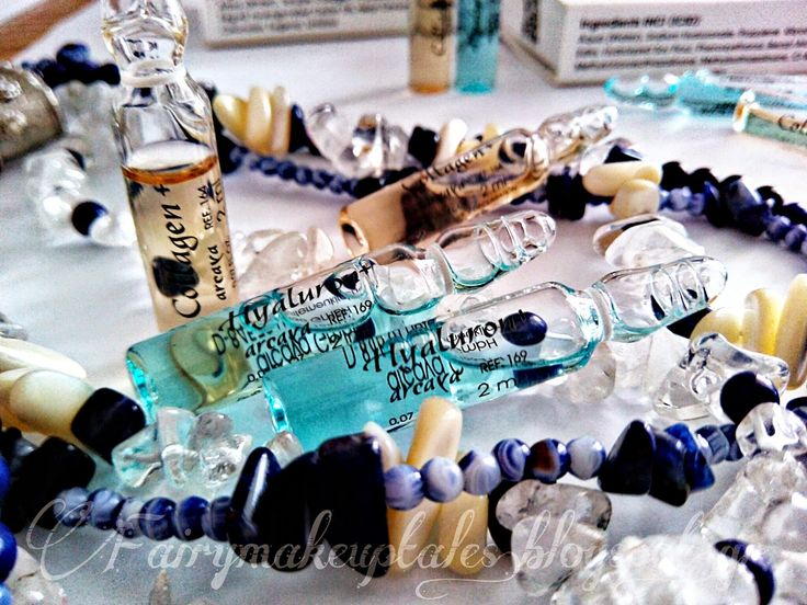 Fairy make-up tales . . . . : Mid Thirtys, Hyaluron and Collagen by Arcaya!