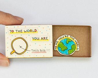 Lustige Geburtstag Karte / Owl Liebeskarte / Matchbox / von shop3xu