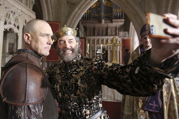 VINNIE JONES, TIMOTHY OMUNDSON in Galavant  Galavant's Vinnie Jones Talks Spoilers for the Season Finale, No Not Really, He is amused at the guessing by fans though! #Galavant #Interview #Trailer #ABC  http://www.redcarpetreporttv.com/2015/01/22/galavants-vinnie-jones-talks-spoilers-for-the-season-finale-no-not-really-he-is-amused-at-the-guessing-by-fans-though-galavant-interview-trailer-abc/