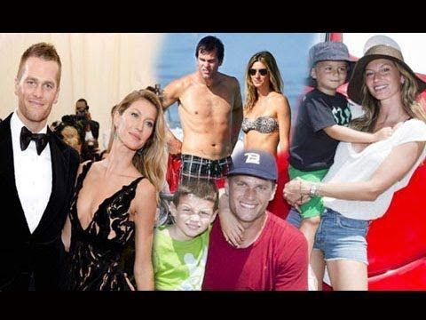 Tom Brady Family Photos With Son,Daughter and Wife Gisele Bündchen 2018