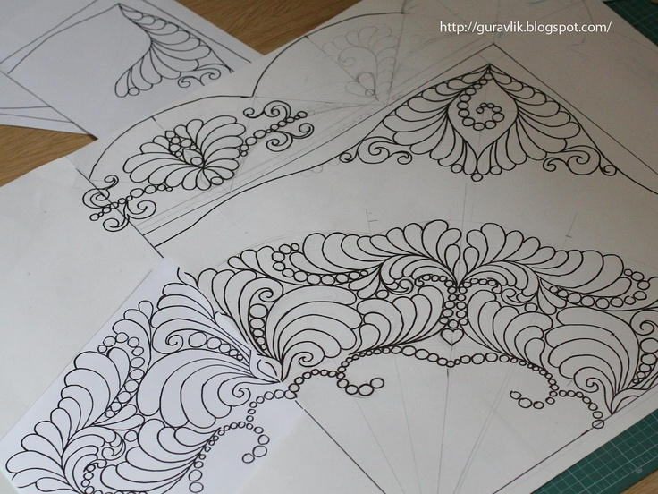Drawing Lines For Quilting : Best quilting designs sketches images free