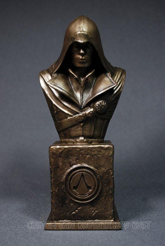 Custom esculpido EZIO de la Hermandad assassin ' s CREED