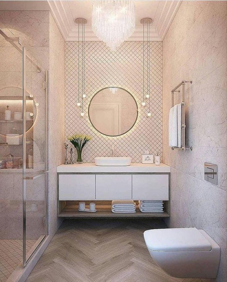 Pin By Elina Palonen On ديكور دورة مياه Bathroom Interior Design Scandinavian Style Home Unique Bathroom