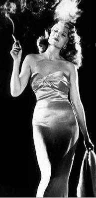 Film Noir ~ Rita Hayworth ~ Gilda