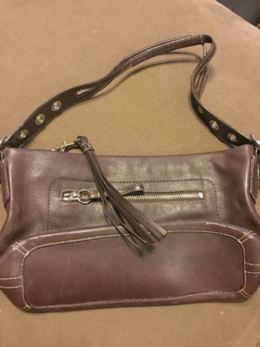 #MK #MickaelKors windowpub.com COACH HANDBAG LEGACY TASSEL BROWN HOBO #MK #MickaelKors windowpub.com