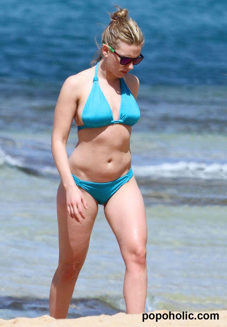 bikini en Scarlett johansson