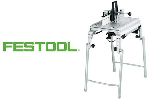 Festool CMS GE Basic Router Table - A premium router table, with a full range of features, that quickly converts from stationary to benchtop mode.