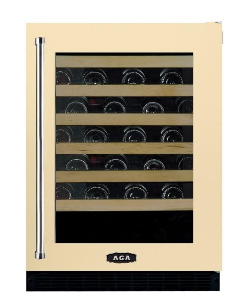 aga under counter wine fridge cream - Under Counter Wine Cooler