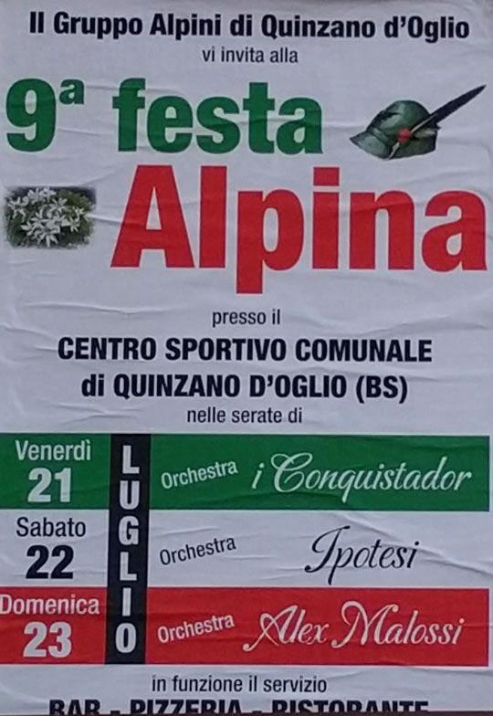 9 Festa Alpina a Quinzano d'Oglio  http://www.panesalamina.com/2017/57366-9-festa-alpina-a-quinzano-doglio.html