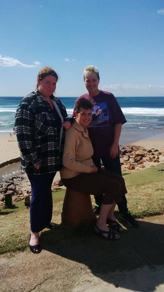 Me and my 2 Cousins - Karen & Nindy McMaster
