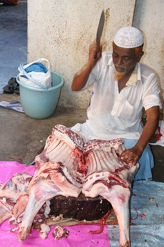 Bakra Eid Qurbani In The Slums