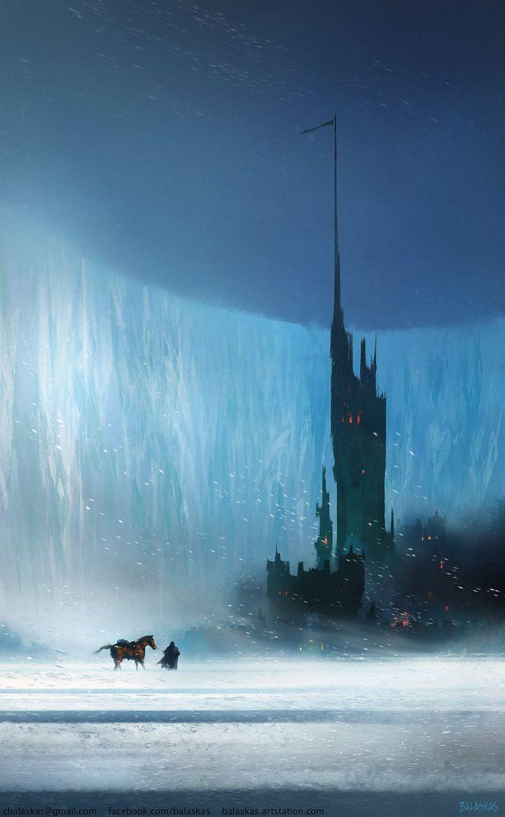 ArtStation - Castle Black - GoT Fanart, Christopher Balaskas