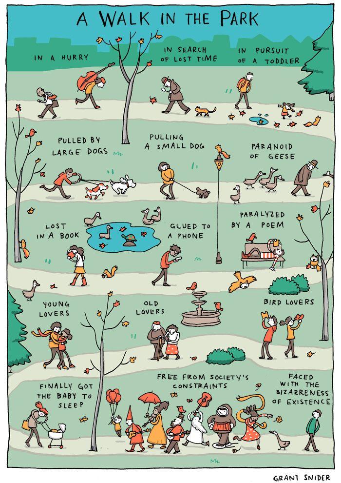 INCIDENTAL COMICS: A Walk in the Park