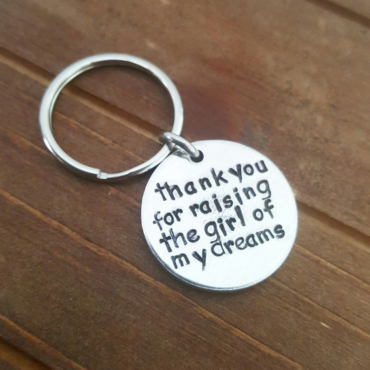 Thank you for raising the girl.of my dreams mom in law wedding gift by DreamWillowStudio on Etsy