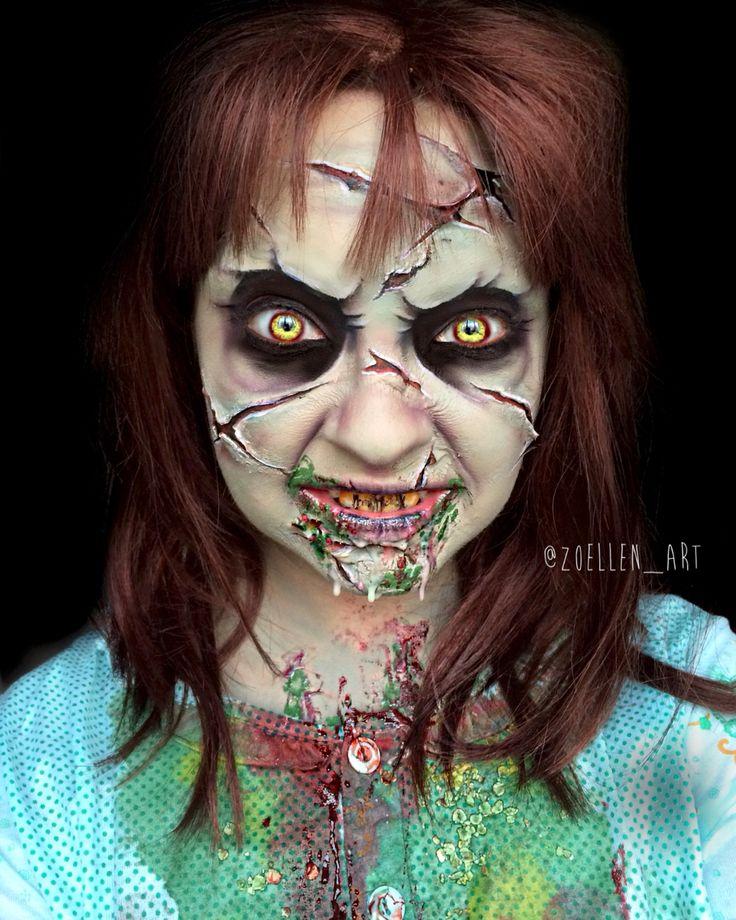 The Exorcist Makeup SFX Makeup