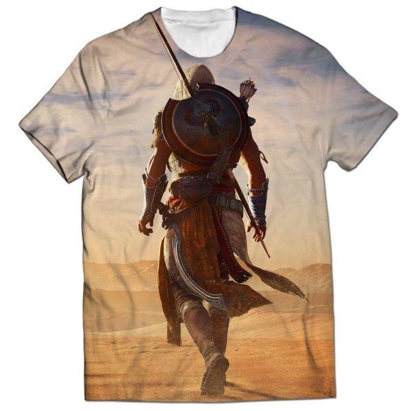 ASSASSINS CREED ORIGINS ALL OVER PRINTED T-SHIRT Visit: http://www.thewarehouse.pk/assassins-creed-origins-all-over-printed-t-shirt-14511