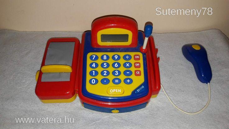 BS Játék - Pénztárgép gyerekeknek - 900 Ft - Nézd meg Te is Vaterán - Vásárlás, bolt - http://www.vatera.hu/item/view/?cod=2554690364