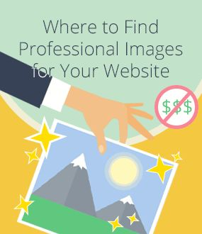 Where to Find Professional Images for Your Website Without Paying Professional Prices?  Using high quality images is the easiest & fastest way to transform your website from average to looking darn good.   See where and how to pick the right images for your website.  #freeimages #websitebuilder #webdesign